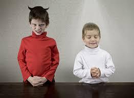 Image result for good vs evil twins